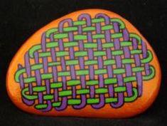 Celtic Design - Les pierres peintes et décorées - Isabelle Herbuvaux
