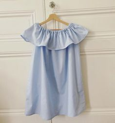 DIY: Ruffle off the shoulder dress - Julie Remacle - Blog fashion, beauty, lifestyle, cuisine in Nantes