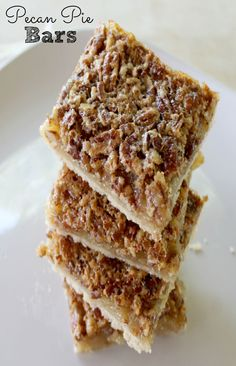 Pecan Pie Bars Recipe. These Pecan Pie Bars are so easy to make and are the perfect dessert for Thanksgiving or any other get together. Be sure to Pin Now and Eat later.