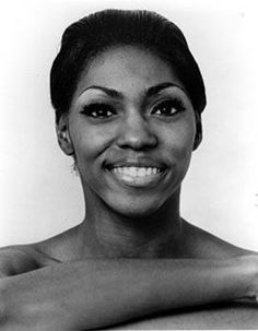 Bio head shot of Judith Jamison when performing with Alvin Ailey American Dance Theatre