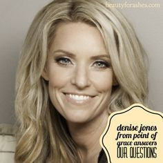 Denise Jones from Point of Grace answers our questions. Has music always been a part of your life? Yes. I grew up in a very musical family. My grandparents, cousins, and parents all played music.