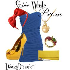 """""""Snow White - PROM"""" by disneydreamer1 on Polyvore"""