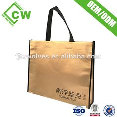non woven shopping bag with customized logo