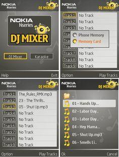 Nokia DJ Mixer for Symbian   Free Downloads