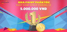 Cập nhật thông tin Đua top ACCESSTRADE, đua point hấp dẫn tháng 11 giật thưởng 5 triệu đồng bên cạnh mức hoa hồng hấp dẫn