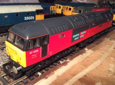 47 588 'Resurgent' in RES livery by Lima  Acquired 13/02/16 from evilBay