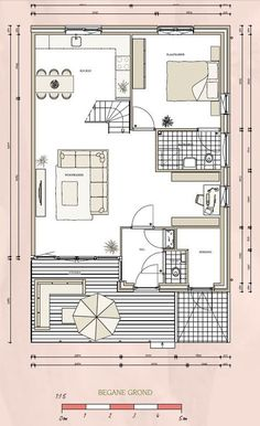 plattegrond levensloopbestendige woning - Google zoeken Up House, Tiny House, Small House Plans, House Layouts, Deco, Architecture, Beautiful Homes, New Homes, Floor Plans