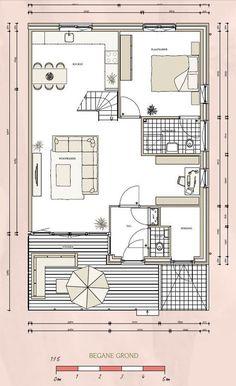 Levensloopbestendig wonen een levensloop bestendige woning is zodanig ingericht met - Plan indoor moderne woning ...