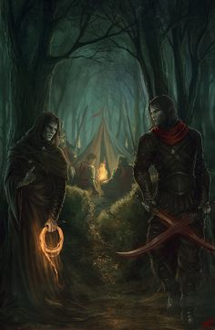 The Weight of Blood by Peter-Ortiz. Named after the book for which it was illustrated. Fantasy Story, High Fantasy, Medieval Fantasy, Fantasy World, Fantasy Art, Dnd Art, Dungeons And Dragons, Sci Fi Characters, Fantasy Warrior
