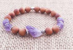 Check out this item in my Etsy shop https://www.etsy.com/uk/listing/398462543/amethyst-sandalwood-mala-bracelet
