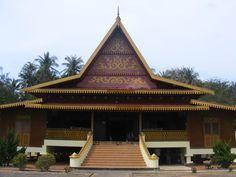 rumah adat melayu, Pulau Penyengat, Kepulauan Riau