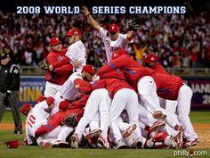 Winning the 2008 World Series