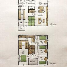 『40坪の間取り』 ・ 南玄関。家事動線。 今日から8月、ああ早い。 ・ #間取り#間取り集 #間取り図 #間取り力 #間取り相談 #間取り図大好き #間取り図好き #間取り考え中 #マイホーム計画 #マイホーム計画三重 #マイホーム計画開始 #三重の家 #三重の住宅 #三重の建築家 #三重の間取り #三重の設計事務所 #住まいの設計#40坪の間取り#シューズクローゼット間取り #パントリーのある間取り #家事動線のスムーズな間取り
