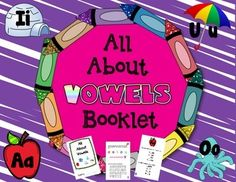 This is a booklet your students can assemble to learn all about the vowels in our alphabet: a, e, i. o , u and sometimes y. Each page focuses on a vowel and students write in that vowel to make words. Short vs. long vowels are explained. This booklet touches upon the very basic vowel spelling patterns.A page is included to show you how to assemble the booklet (super easy!)*****************************************************************************Follow Me so you can grab my flash freebies…
