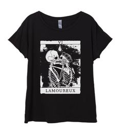 ***SIZE CHARTS AND MEASUREMENTS ARE SUPPLIED IN THE ABOVE LISTING PHOTOS, Please double check as some find our items to run small, Length is from top of shoulder to hem, width is one side laying flat in the chest area, thank you***  New Womens Boho Vintage Skeleton Lovers TAROT Card Shirt Tee Tumblr Top Bohemian Cotton Fashion Short Sleeve Tshirt S M L XL  The same fabric and wash as our Vintage Tee, the Rocker features a relaxed look with dropped shoulders and sofly rolled sleeves. Our…