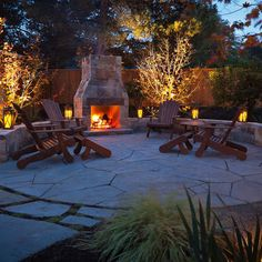 Patio Small Backyard Patio Design, Pictures, Remodel, Decor and Ideas - oh what I wouldn't do for one of these! But get rid of those chairs! Once I get in them, I can't get out of them! A different kind of furniture!
