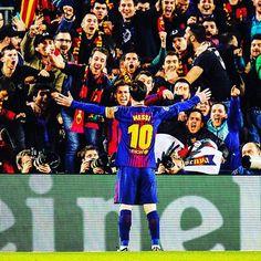 Lionel #Messi a inscrit ses 99e et 100e buts en Ligue des champions ce mercredi face à Chelsea.