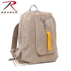 Rothco Vintage Canvas Khaki Flight Bag