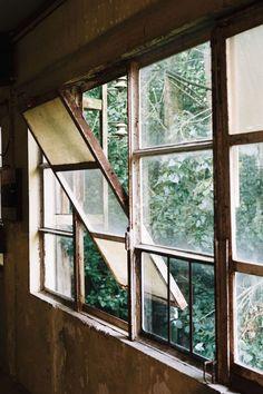 abandoned..window