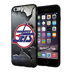 Winnipeg Jets 4 Iron NHL Logo WADE5142 iPhone 6+ 5.5 inch Case Protection Black Rubber Cover Protector WADE CASE http://www.amazon.com/dp/B013S8XJU8/ref=cm_sw_r_pi_dp_xWzFwb0AAVHRH