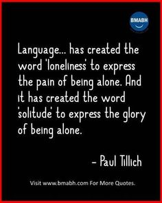 Quotes About Being Alone With Images On www.bmabh.com #Inspirational