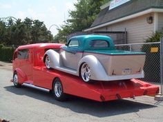 Crazy custom COE hauler