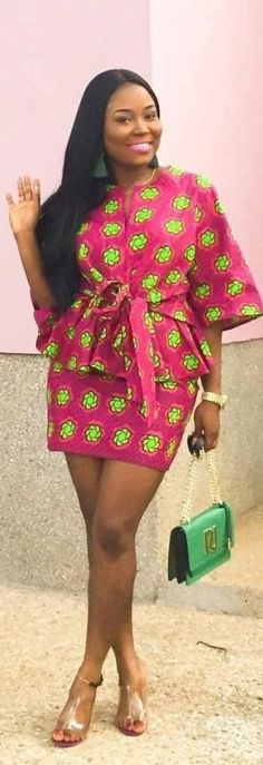 African Fashion African Art - Shop here for ALL your trendy African Fashion designs by the best African designers for African fashion, African weddings. African Wear Dresses, African Fashion Ankara, African Print Fashion, Africa Fashion, African Attire, Trendy Ankara Styles, Kente Styles, Mode Kimono, African Blouses