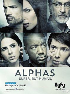 Estreno de la segunda temporada de Alphas