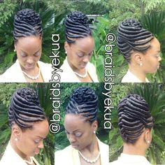 TOP 25 Cute Updos for Natural Hair for Black American Woman - Trends 2018 Hair Twist Styles, Flat Twist Hairstyles, Flat Twist Updo, French Twist Hair, Twist Braids, Braid Styles, Braided Hairstyles, Short Hair Styles, Twist Ponytail