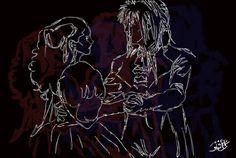 Bowie - As The World Falls Down by HecateInNightmare.deviantart.com on @DeviantArt