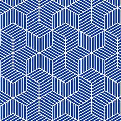 chevron 6 bars : navy blue fabric by sef on Spoonflower - custom fabric