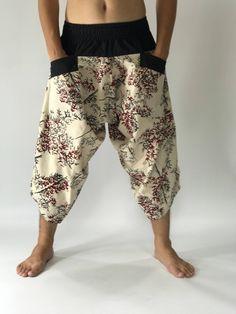 Samurai Pants, Yoga Harem Pants, Hippie Pants, Men Beach, Beach Wear, Very Lovely, Rock Climbing, Yoga Meditation, Festivals