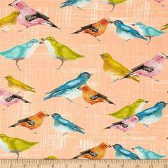 Stof Michael Miller birdies - Google zoeken