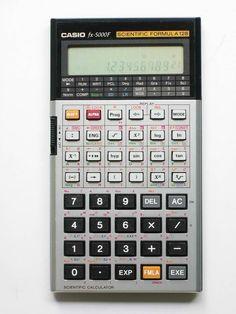 Casio FX-5000F I still have this one somewhere