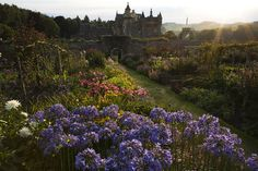 """afaerytalelife: """" Walled Garden at Abbotsford, Scottish Borders. The home of Sir Walter Scott. Photography by Sheila Sim. """""""