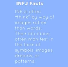 INFJ - true, i think by words too, though! Infj Mbti, Intj And Infj, Infj Type, Enfj, Infj Traits, Infj Personality, Myers Briggs Personality Types, Personality Characteristics, Personalidad Infp