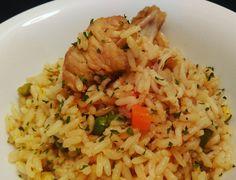Arroz con Pollo. Chiken Rice...By Lolas Flavours