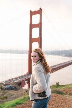 On the blog this week, two of my favorite things: a trendy, shearling coat, and the Golden Gate Bridge.