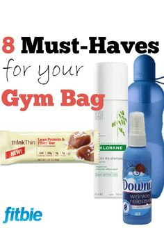 Toss these fitness finds in your bag, and you won't have to worry about anything but your sore glutes.