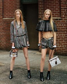 Rianne Van Rompaey & Jean Campbell by Bruce Weber for Louis Vuitton S/S 2016