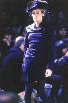 Marie Sophie Wilson-Carr - Comme des Garçons Fall 1994 Ready-to-Wear Collection Photos - Vogue