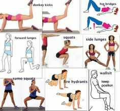 Seksowne nogi - Intensywny trening!!!