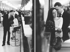 Wedding portraits at the Marriage Bureau. Captured by NYC City Hall Wedding Photographer Ben Lau.