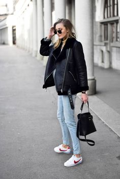 Why is shearling jacket the trendiest piece to own - Katiquette