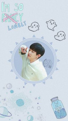 Page 3 read chanyeol from the story kpop wallpaper by damdamdamdaaa (? Chanyeol Cute, Park Chanyeol Exo, Kpop Exo, Cute Pastel Wallpaper, Cute Wallpaper For Phone, Bear Wallpaper, Chanbaek, Exo Lockscreen, Wallpaper Lockscreen