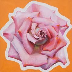 "Saatchi Art Artist Daniel Kozeletckiy; Painting, ""Rose 3"" #art"