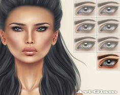 AG. Illusion Eyes / Grey (gift)
