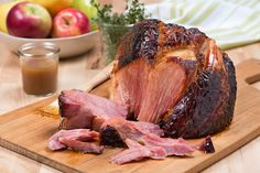 Sweet Southern Slow-Cooker Ham recipe perfect for everyday meals or holiday parties!