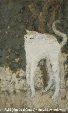 Pierre Bonnard. The White Cat.