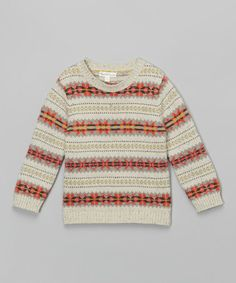 Look what I found on #zulily! Dough Shetland Sweater - Infant, Toddler & Boys #zulilyfinds